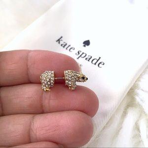 ♠️ Kate Spade Cold Comforts Polar Bear Ear Studs